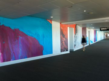 Art Installation at Brisbane Airport