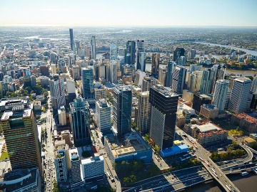 Brisbane Aerial day shot
