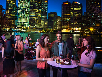 Riverside nightlife, Brisbane